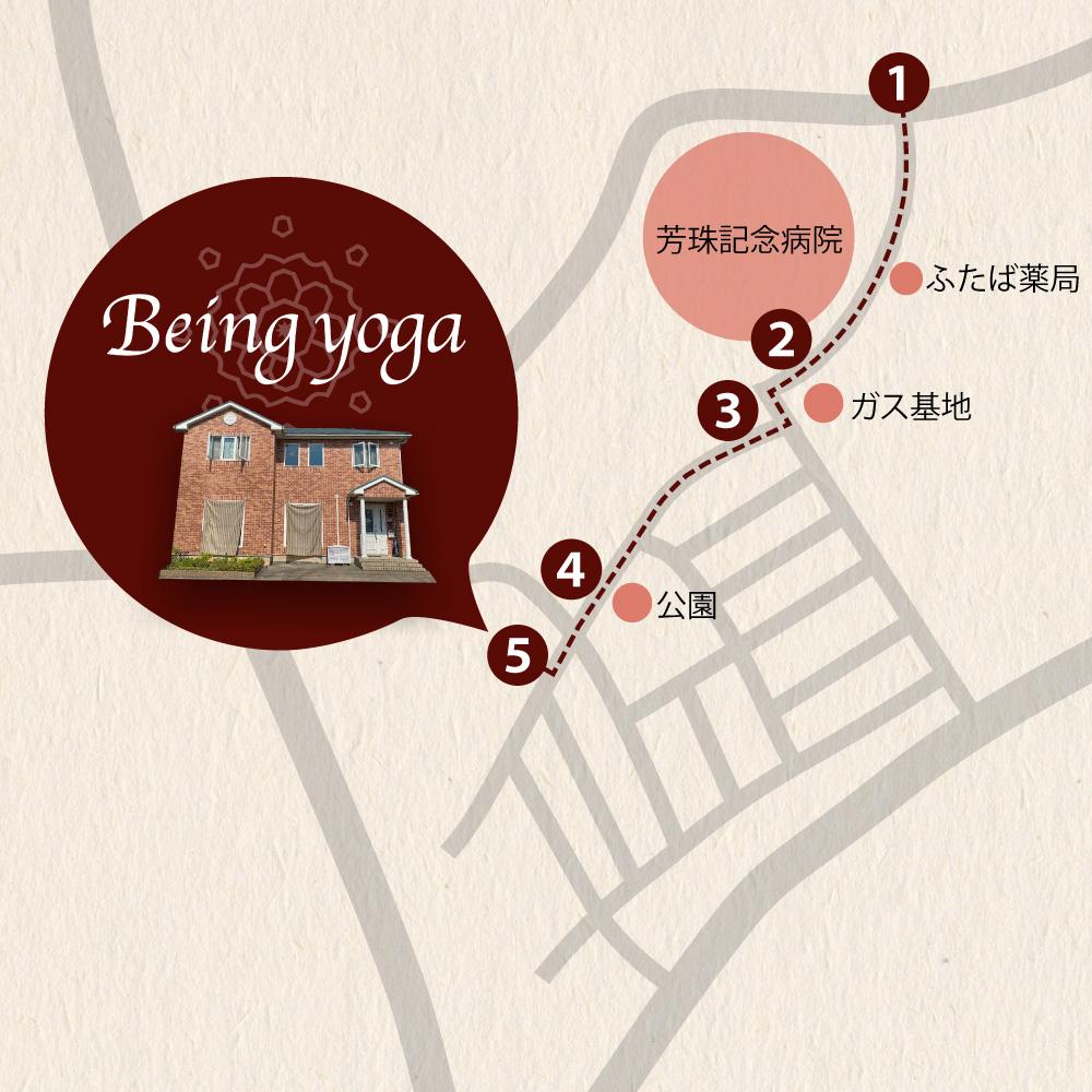 芳珠記念病院からのアクセスマップ