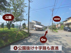 芳珠記念病院からの道4